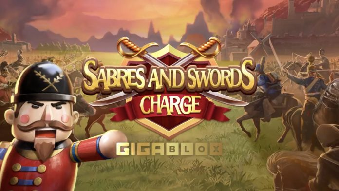 Saber and Swords Charge Gigablox: Slot Overview